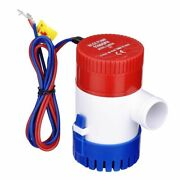 1100 Gph 12volt Marine Boat Bilge Water Pump Submersible For Yacht Rv Spa Pool