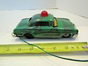 Vintage Mar Marx Tin Toy Car Metal Army Camouflage Made Japan Parts