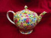 Royal Winton Grimwades Teapot In Cheadle Pattern Pristine . Make An Offer