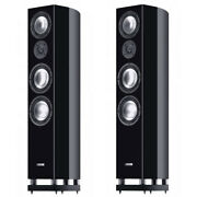 Canton Reference 7.2 Piano Noir Paire Stand Hifi High End Neuf