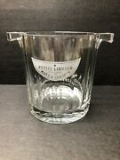 Etched Crystal Moet And Chandon Petite Liqueur Champagne Ice Bucket