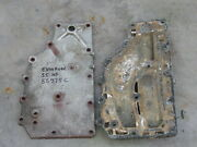 1979 Evinrude Johnson 50 55 Hp Inner And Outer Exhaust Cover Plates