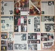 Liza Minnelli Spain Clippings 1960s/80s Magazine Articles Photos Cinema Actress
