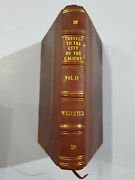 Wellsted J.r Travels City Of Caliphs. Along The Shores Persian Gulf. 1840. V2