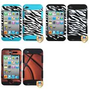 Apple Ipod Touch 4th Generation Tuff Design Cute Case Hard Armor Cover
