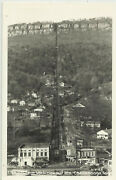 Rppc - Tennessee - Chattanooga - Incline Up Lookout Mt. - St. Below - Homes Etc.