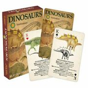 Aquarius Officially Licensed Smithsonian Dinosaurs Designed Fun Playing Cards