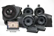 Mb Quart Mbqr-stg5-rc-1 800w Stage 5 Rzr Ride Command Complete Audio Package