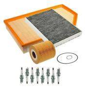 Oem Maintenance Kit For Volvo S80 V8 07-10 With Charcoal Pollen Filter And Iaqs