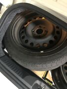 """Fiat 15"""" Rims 3 Available And 1 Ironman 185-55-15 Tire And Rim + 2 Free Hubcaps"""