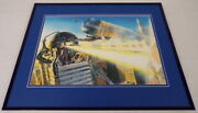 Marvels 3 Silver Surfer Galactus Framed 16x20 Cover Poster Display Alex Ross