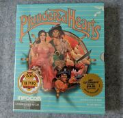 New Plundered Hearts Commodore 64 Infocom Vintage Computer Game Sealed C64