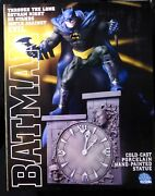 Batman On Clock Tower Statue 47 New 1999 Paquet Simon Bisley Factory Sealed