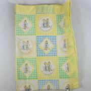Rare Vintage Betsy Clark Baby Crib Blanket From 1976 Preowned