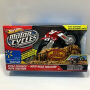 2012 Hot Wheels Motor Cycles Red Crusher New Rare