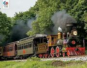 Jigsaw Puzzle Train Steam Into History Locomotive 750 Pieces New Made In The Usa