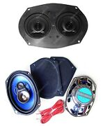 1973-1983 Cutlass Dash Speaker +classic Car 6 X 9and039s For Stereo Radio