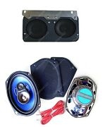 1964-67 Gto Lemans Tempest Dash Speakers + Classic Car 6 X 9and039s For Stereo Radio