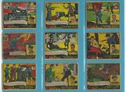 1935-37 G-men And Heroes Of The Law Lot Of 42 Different Non Sports Cards Copyrt