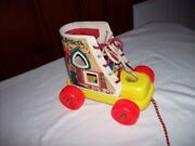 Fisher Price Playskool Pull Toy / Old Woman Who Lived In A Shoeandhellip.pre-owned