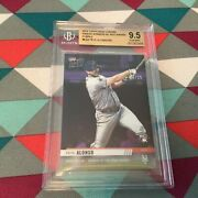 Pete Alonso Rc Topps Chrome Pa6 09/25 Made - Now Mets 2019 Roy Bgs Gem Mint 9.5