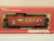 Baltimore And Ohio Old Time Drovers Caboose Mantua Ho Scale Train Mint