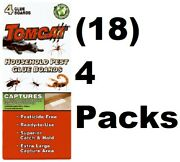 18 Motomco 4524218 Tomcat 4 Pack Insect / Scorpion Killer Glue Boards / Traps