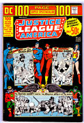 Dc 100 Page Super Spectacular Dc-17 In Vf+ Justice League Of America 1973 Comic