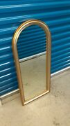 Carvers Guild Belle Arch Antique Gold And Silver Mirror 17 X 39 Style 0430