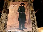 Hank Williams Jr Rare Autographed Signed Promo Poster Maverick Country Music Wow