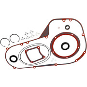 Genuine James Primary Cover Gasket Seal O-ring Kit Harley 94-04 Big Twin Fxr Flh
