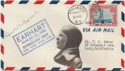 U.s. Ny State Fair Aug. 27 1928 Earhart Signed Flight Cover 32420