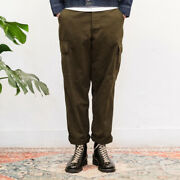 60s Jungle Pants Menand039s Vintage Multi-pocket Army Military Canvas Cargo Trousers