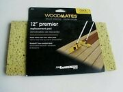 Lot Of 4-mr. Longarm Woodmates 12 Wood Deck Stain Applicator Replacement Pads