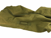 Military Duffle Thick Canvas Travel College Camping Bag Laundry. Large. Green.