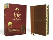 Niv, Life Application Study Bible, Third Edition, Personal Size, Leathersoft,