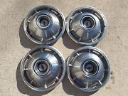 1965 Chevrolet Impala Hub Cap 14and039 Inches Wheel Cover Set Of 4 Hubcap Lot