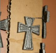 Large Cross Clavos 3 Inch Cast Iron Cl-cross