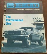Rare 1967 Shelby Parts And Accesories 24 Page Dealer Catalog Nice