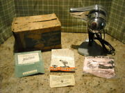 🌼 Vintage Knapp Monarch Hair Dryer W/stand-hoodsee Photo's For Collection 15