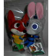 Disney Zootopia Two Pieces Holder Mascots Good Condition Shipped From Japan
