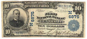 1902 Bs 10 The First Nb Of Centralia, Missouri. Ch 6875. Vf. Y00004679