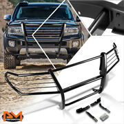For 08-15 Land Cruiser J200 Suv Bumper Brush Grill Guard Protector Coated Black
