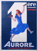 Cappiello Aurore The Shoes Of Top Quality Rare Vintage Poster