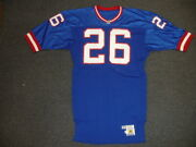 1990 Dave Duerson New York Giants Game Used Nfl Football Jersey 26