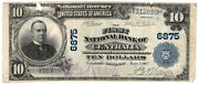 1902 Bs 10 The First Nb Of Centralia, Missouri. Ch 6875. Fine/tears Y00001745