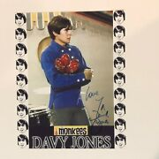 Davy Jones The Monkees Hand Signed Autographed 8x10 Photo
