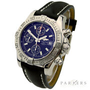 Breitling Avenger Ii Stainless Steel Automatic Wristwatch Model No. A13381