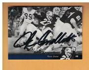 John Cappelletti Autographed 2011 Upper Deck Penn State Football Card Signed