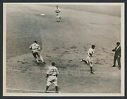 1935 Tony Lazzeri Yankees Hall Of Famer Takes On The White Sox Action Photo